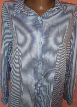 Рубашка женская блузка размер л