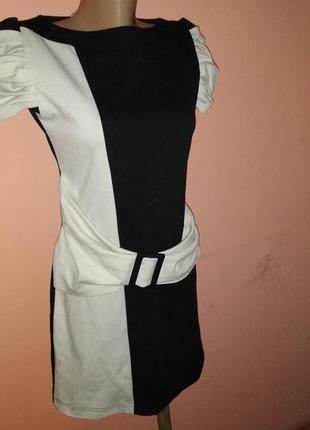 Теплое платье в школу для девочки подростка