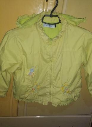 Куртка весна осень 3/4 года