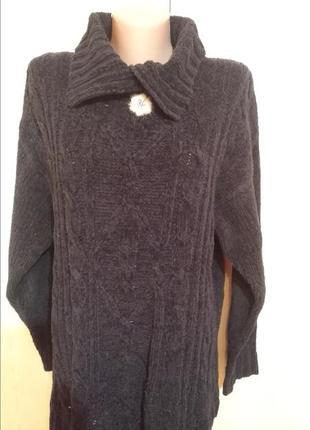 Теплый свитер 52-54 размер