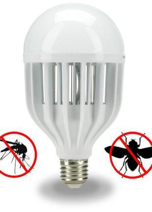 Светодиодная лампа уничтожитель комаров, насекомых ZappLight