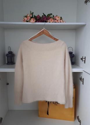 Очень теплый свитер с ангоры