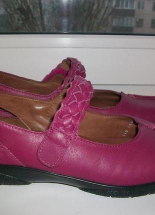 Туфли женские натуральная кожа hotter р.41