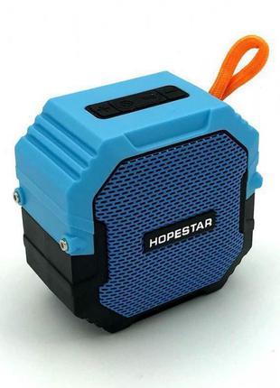 Портативная Bluetooth Колонка Hopestar T7 Синяя