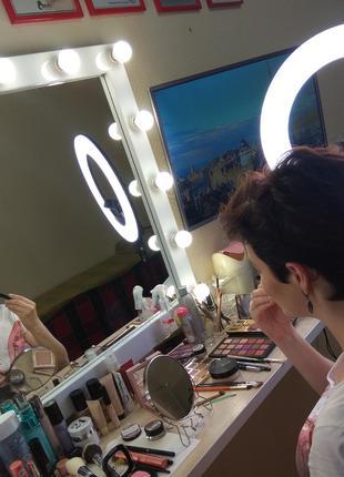Обучение Макияжу для Себя. Уроки макияжа у визажиста.