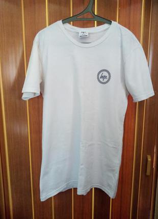 Базовая белая футболка hype