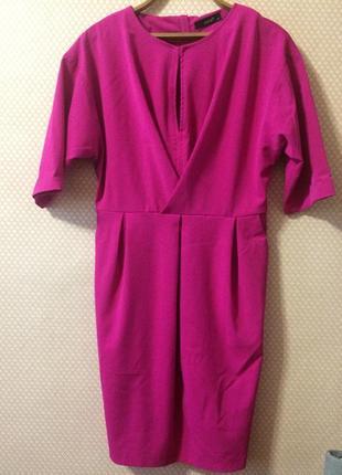 Красивое нарядное платье с широким поясом