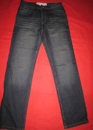 Мужские классические джинсы с потертостями burton menswear london