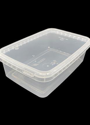 Набор пластиковых пищевых судков Alliance Plast 1000 мл 10 штук