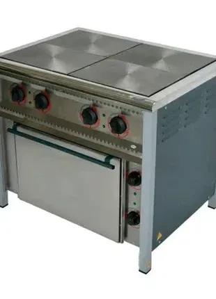 Плиты электрические 2,3,4,6 конфорочные с духовкой и без