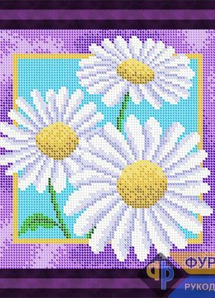 Схема для вышивки бисером - Букет ромашек, Арт. НБп19-006