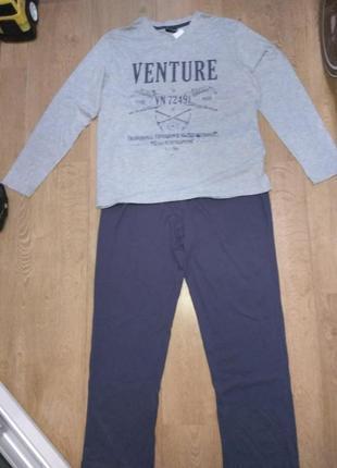 Мужская пижама, костюм для дома, сна watsons xxl