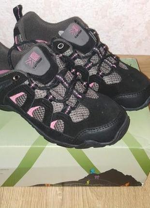 Женские замшевые кроссовки karrimor