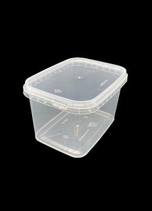 Набор пластиковых пищевых судков Alliance Plast 500 мл 20 штук