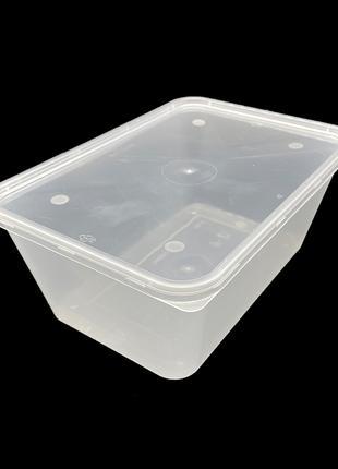 Набор пластиковых пищевых судков Glen Plastic 1000 мл 10 штук