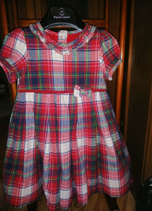Тепле плаття на дівчинку