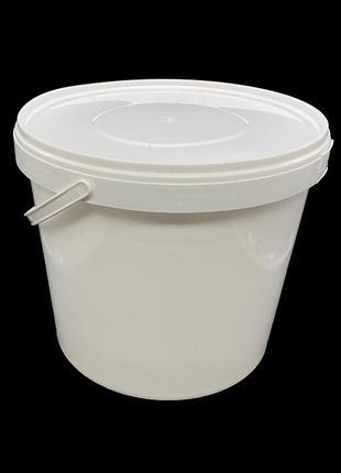 Набор пластиковых пищевых ведер Sirin Plastik 18 литров 3 штуки