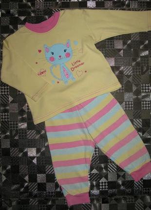 Симпатичная пижама на малышку st bernard for dunnes stores 6-1...