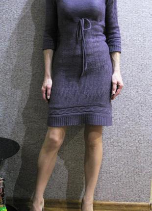 Вязаное платье clockhouse c&a  р. xs-s