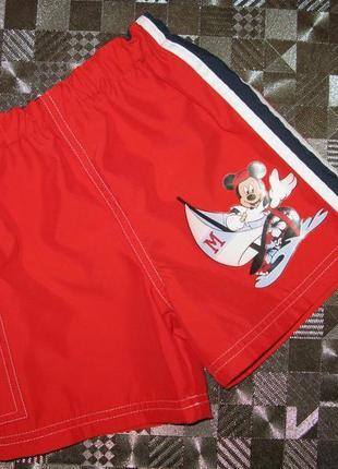 Яркие пляжные шорты (плавки для плавания) disney mickey mouse ...