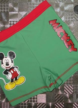 Плавки шортики для плавания (шорты) george disney mickey mouse...