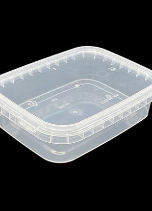 Набор пластиковых пищевых судков Alliance Plast 200 мл 20 штук