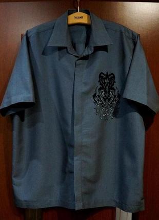 Фирменная качественная рубашка etcetera xl