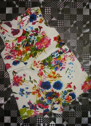 Потрясающее удобное платье ромпер на малышку ladybird 12-24мес