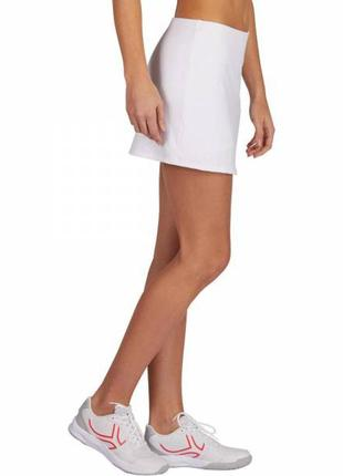 Хлопковая юбка с шортами, спортивная юбка для тенниса сквош ба...