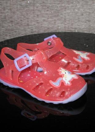 Коралловые силиконовые босоножки аквашузы, сандалии для пляжа ...