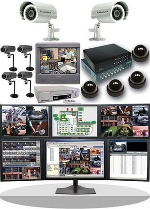Видеонаблюдение. Установка, монтаж, обслуживание систем.