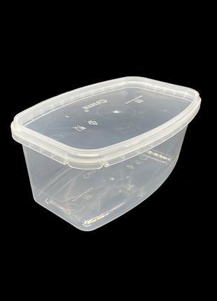 Набор пластиковых пищевых судков Glen Plastic 1200 мл 10 штук