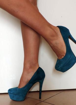 Крутые  туфли mauro leone casanita натуральный замш р. 38