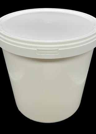 Набор пластиковых пищевых ведер Sirin Plastik 30 литров 3 штуки
