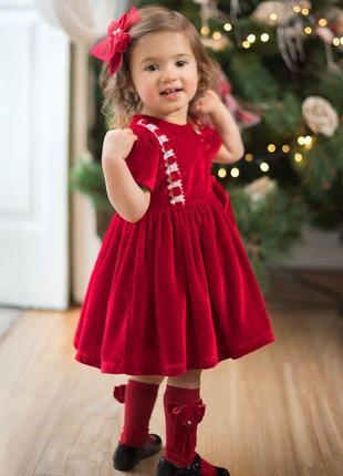 Нарядное праздничное новогоднее бархатное велюровое платье nex...