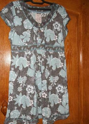 Платье натур.ткань