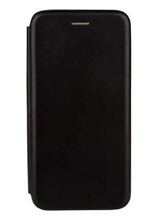 Чехол-книжка кожа Lenovo K5 Pro цвет чёрный