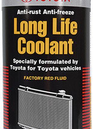 Антифриз Toyota Long Life Coolant готовый красный 1л 0888980039
