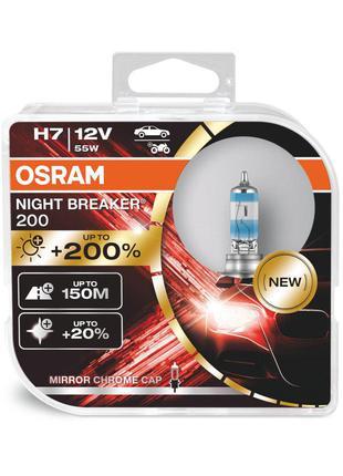 Автолампа OSRAM 64210NB200-HCB H7 Night Breaker +200% 55W 12V ...