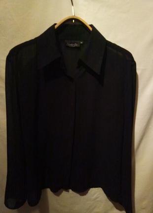 Блуза черная,женская,рубашка,классика,