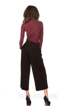 Кюлоты брюки женские,укоросенные палаццо  ,высокая посадка
