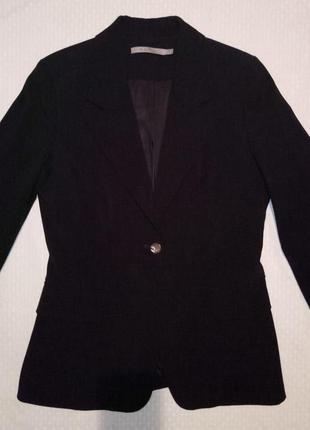 Пиджак женский, жакет, блейзер, классика, средний