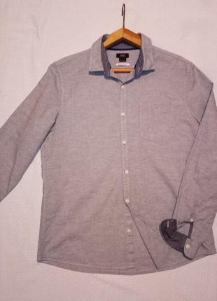 Брендовая оригинальная рубашка мужская длинный рукав