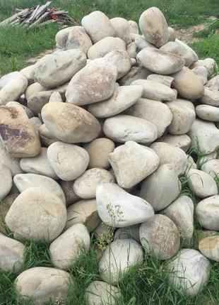 Камень природный, Карпатский речной, Галька, Камень для габионов