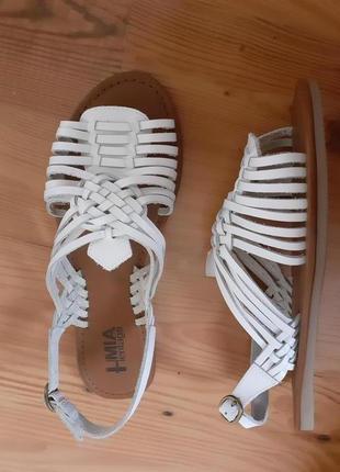 Mia сандалии, босоножки без каблука, натуральная кожа, обувь и...