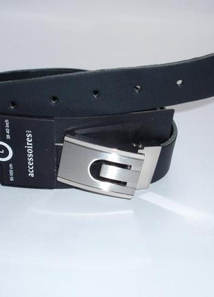 Кожаный мужской ремень бренд accessoires c&a германия р. м, l,...