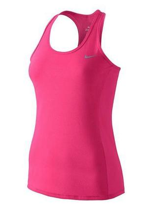 Розовая спортивная майка nike dry fit оригинал