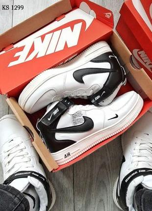Кроссовки Найк. Кроссовки Nike Air Force High белые. ТОП КАЧ...