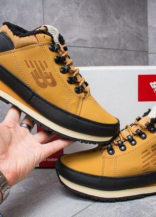 Мужские зимние ботинки New Balance 754. Натуральная кожа! USA.