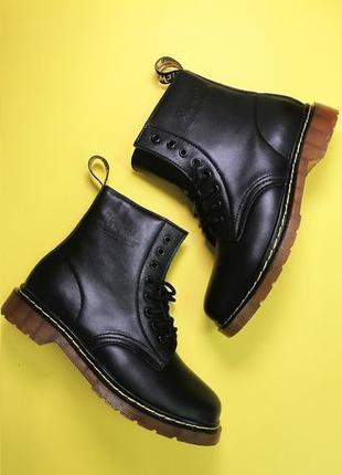 Топ качество! Женские ботинки Dr. Martens 1460. Натуральный мех!